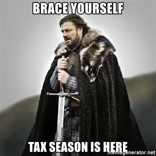 Tax Season Is Here