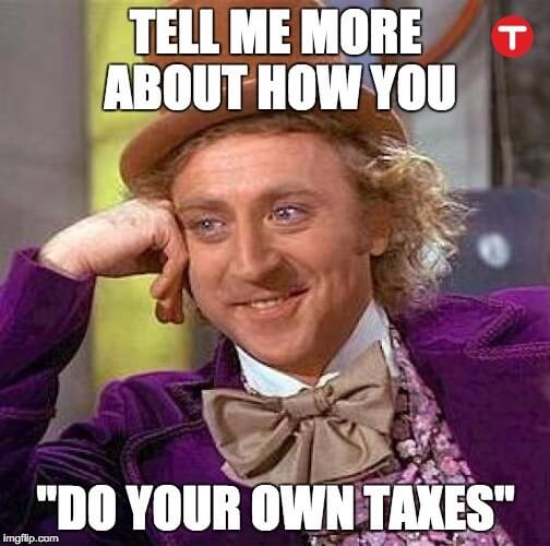 Do Your Own Taxes