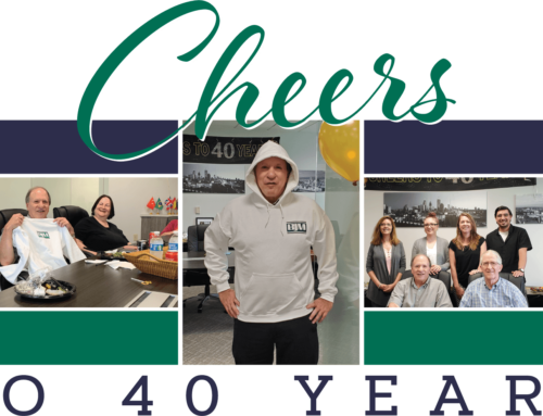 Cheers to 40 Years!